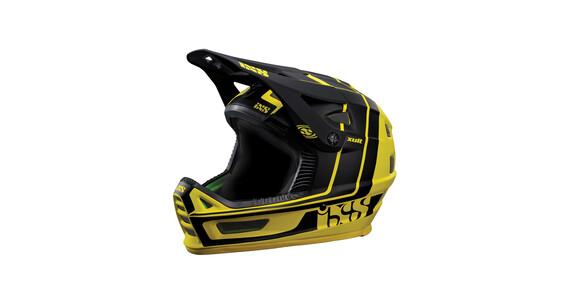 IXS Xult Downhill hjelm gul/sort
